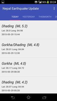 Nepal Earthquake Updates screenshot 1