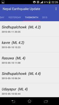 Nepal Earthquake Updates screenshot 4