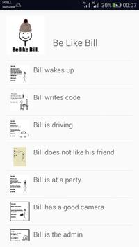 Be Like Bill poster