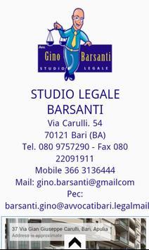 Avvocato  Gino Barsanti apk screenshot