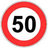 Non superare i 50 !! Free icon