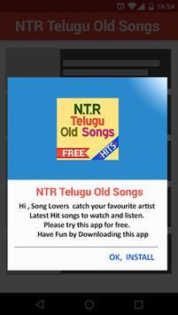 NTR Telugu Old Super Hit Songs poster