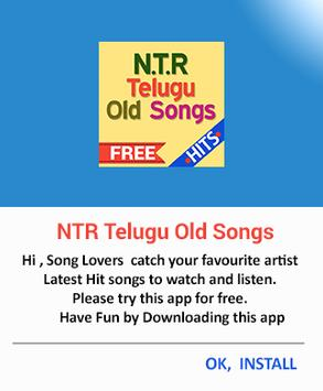 NTR Telugu Old Super Hit Songs screenshot 2