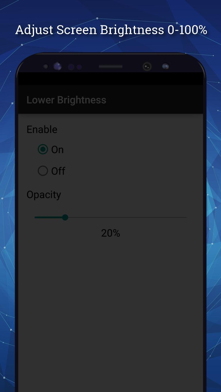 Lower Brightness for Android - APK Download