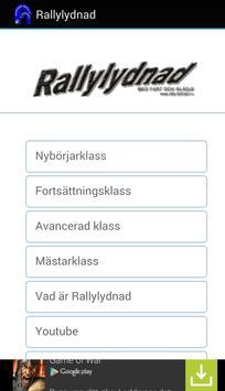 Rallylydnad poster