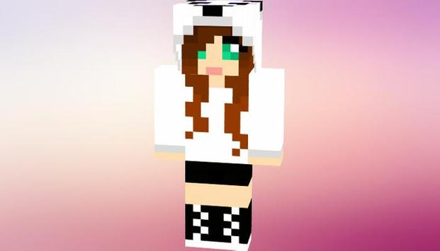 Mo Girl Skins for Minecraft screenshot 2
