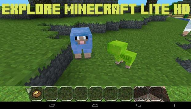 Explore Minecraft Lite HD screenshot 1