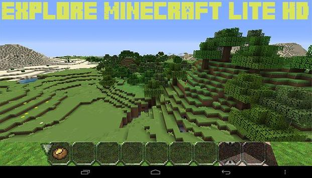 Explore Minecraft Lite HD screenshot 3