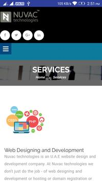 Nuvac Technologies apk screenshot