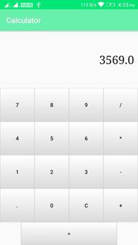 Simple Calculator apk screenshot