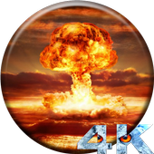 Nuclear Explosion HD LWP icon