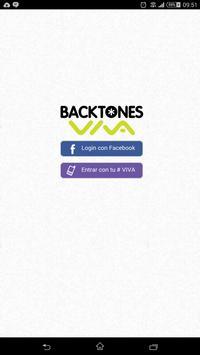 Backtones VIVA poster