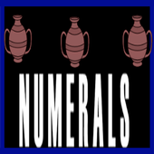 Numerals icon