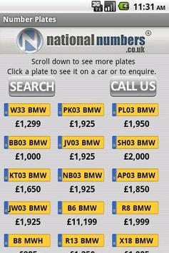 Number Plates apk screenshot