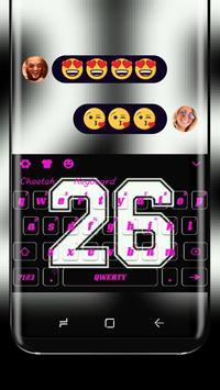 Number 26 Keyboard Theme poster