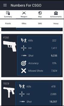 Numbers For CS:GO screenshot 3