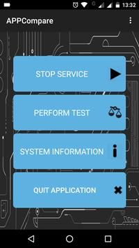 AppCompare: An App for Performance Evaluation poster