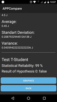 AppCompare: An App for Performance Evaluation screenshot 3