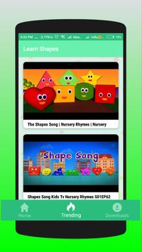 Learn Shapes for Kids, Toddlers, Babies poster