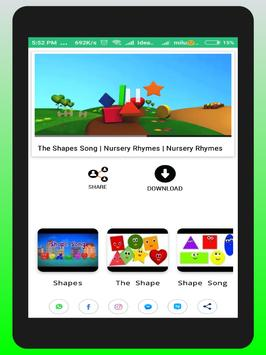 Learn Shapes for Kids, Toddlers, Babies apk screenshot