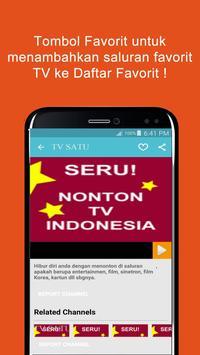 Seru: Nonton TV Indonesia apk screenshot