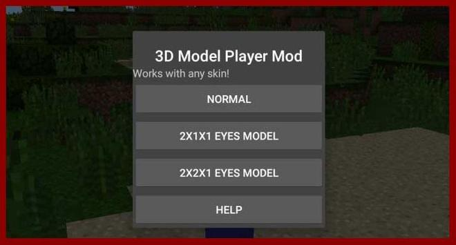 Guide for 3D Player Model Mod poster