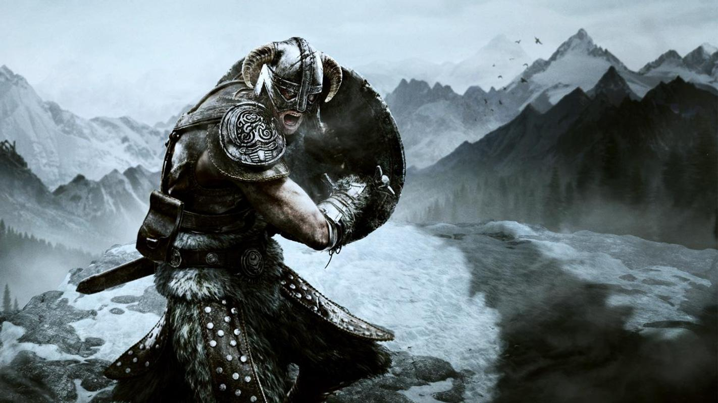 Skyrim Live Wallpaper Poster Apk Screenshot