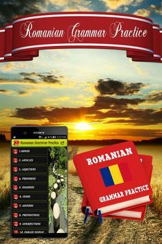 Romanian Grammar Practice poster