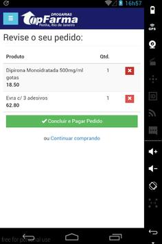 Drogarias TopFarma apk screenshot