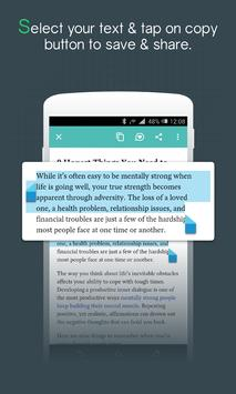 Easy Share - Save Text screenshot 1