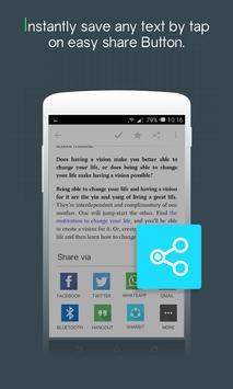 Easy Share - Save Text screenshot 2