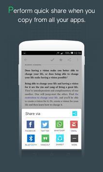 Easy Share - Save Text screenshot 4