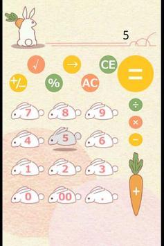 Rabbit Calculator apk screenshot