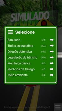 Simulado CNH capture d'écran 1
