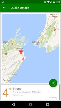 Quakes NZ apk screenshot