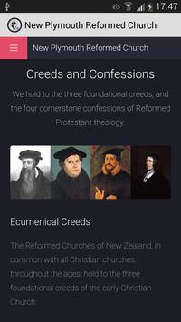 New Plymouth Reformed Church poster