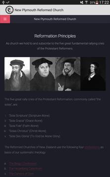 New Plymouth Reformed Church apk screenshot
