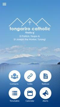Tongariro Catholic Parish poster