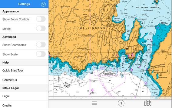 chartee lite nz marine charts screenshot 15