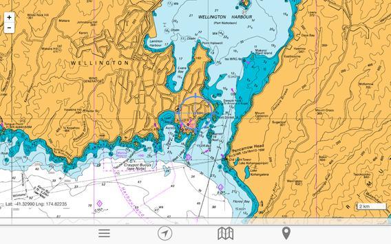 chartee lite nz marine charts screenshot 16