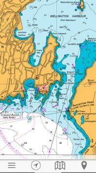 chartee lite nz marine charts screenshot 2