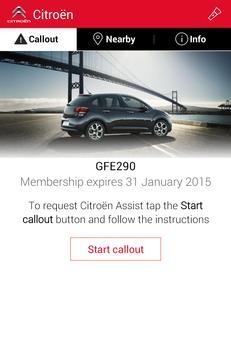 Citroën Assist poster