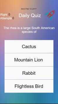 Daily Quiz screenshot 2