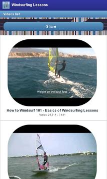 Windsurfing Lessons screenshot 2