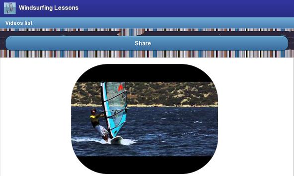 Windsurfing Lessons screenshot 3