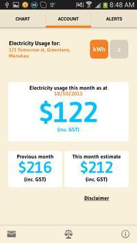 Genesis Energy MyMeter poster