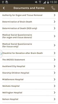 Organ Donation New Zealand screenshot 4