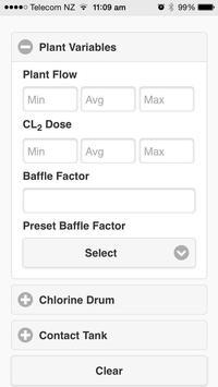 Chlorine Calculator screenshot 1