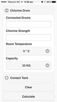 Chlorine Calculator screenshot 2