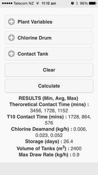 Chlorine Calculator screenshot 4